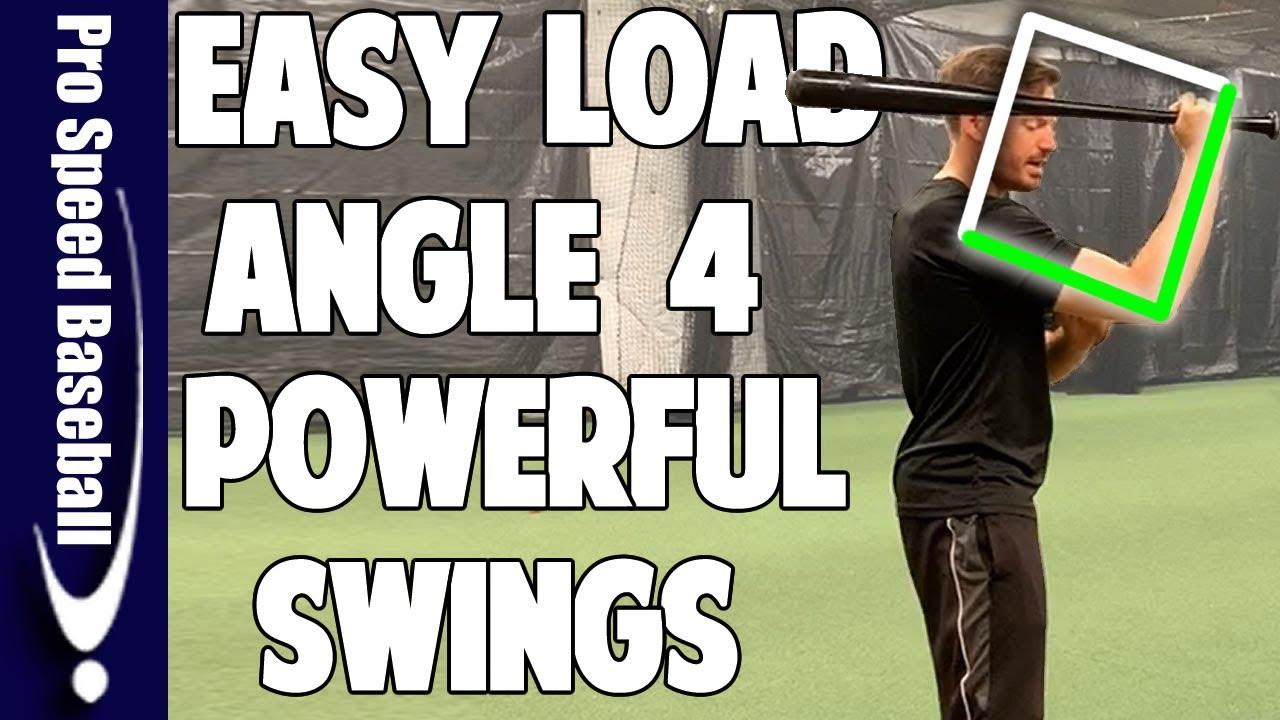 Load Angle For More Powerful Swing Baseball Hitting Mechanics Pro Speed Baseball