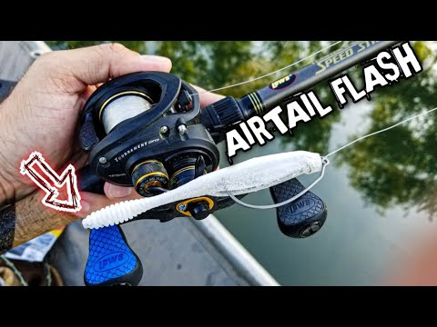 Fishing With The GrandeBass Airtail Flash (Jon Boat Bass Fishing)