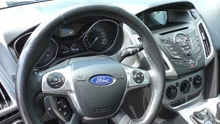 Ford Focus 2013 1.6 147.000 пробігу, Огляд і Тест Драйв