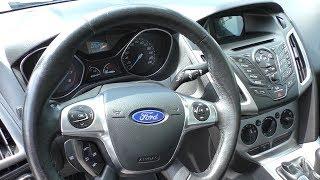 Ford Focus 2013 1.6 147.000 Пробега, Обзор И Тест Драйв
