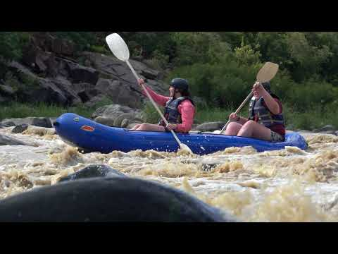 Tumble Dry rapid on Tugela River