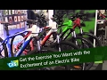 Get the Exercise You Want with the Excitement of an Electric Bike at CES 2017