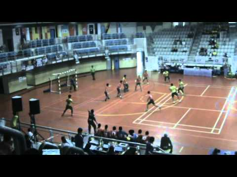 Malaysia x Thailand MenHandball IHF Qualifying for Asia Zone 1B Trophy 2014 1