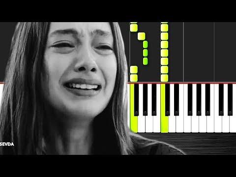 Seni Severdim - Piano Tutorial By VN