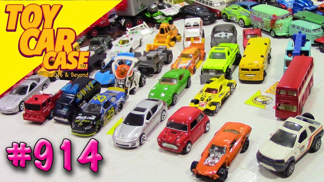 914 Mega GREAT Die Cast Garage Sale Find 20 Toy Car Case