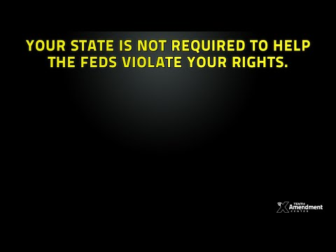 States are not Required to Help the Federal Government