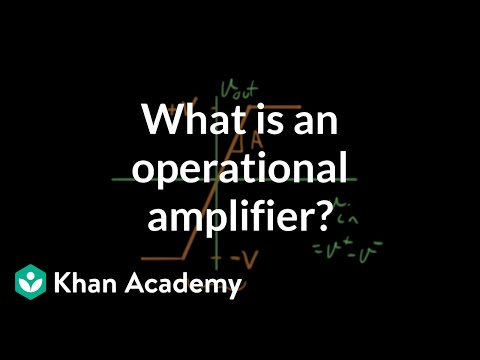 What is an operational amplifier?