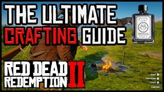 Crafting guide in Red Dead Redemption 2 | Never run out of cores, the best potions and more!