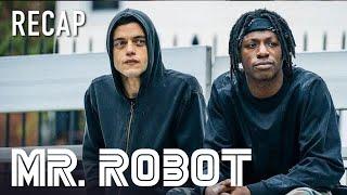Mr Robot According To Leon  Series Recap  on USA Network