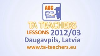 TA Lessons I English I 13-14 I Grammar I Models and Banks