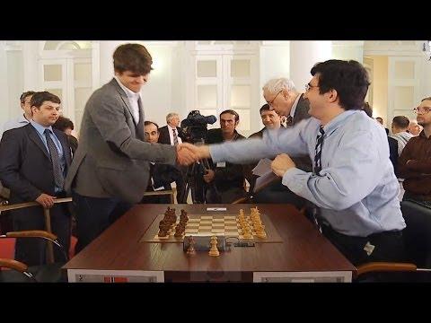 ♚ Vladimir Kramnik Vs Magnus Carlsen Chess Blitz Tal Memorial