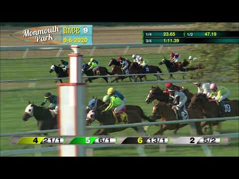 video thumbnail for MONMOUTH PARK 09-06-20 RACE 9