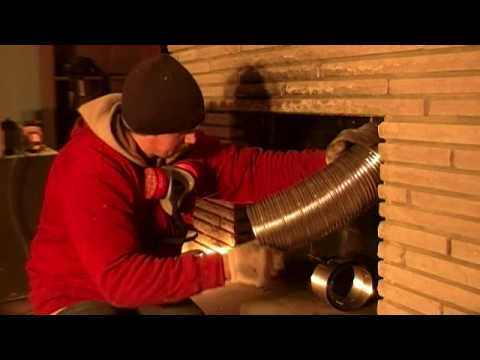 Woodburning Fireplace Insert Installation Part 4