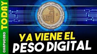 AMLO crearía una criptomoneda (Peso Digital) para ejercer el gasto público