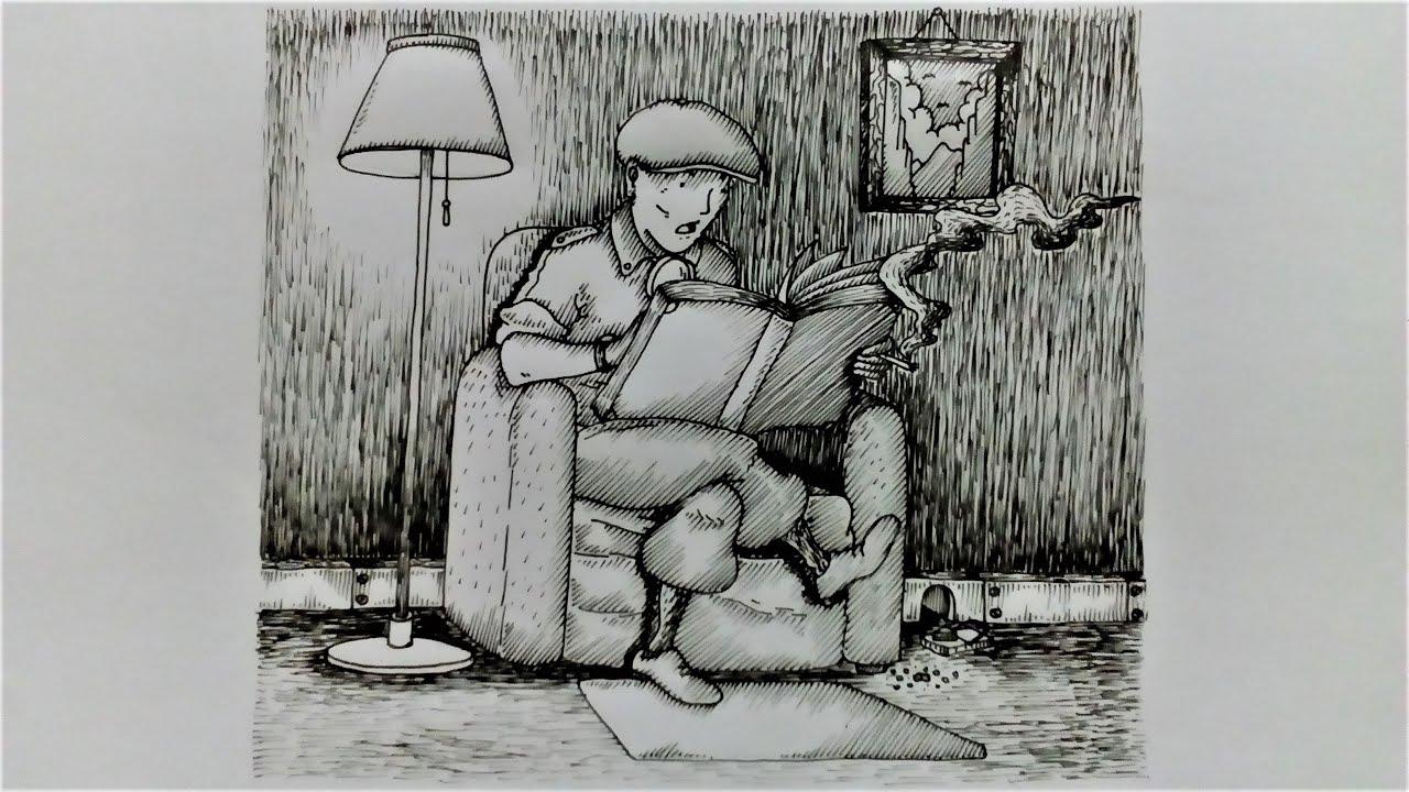 Sketsa Gambar Orang - 2 l Timelapse Drawing l Ilustrasi ...