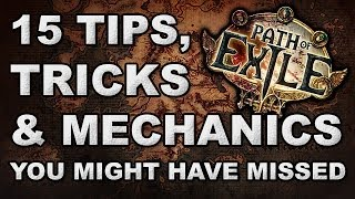 Path of Exile: 15 Tips, Tricks & Mechanics You Might Have Missed!