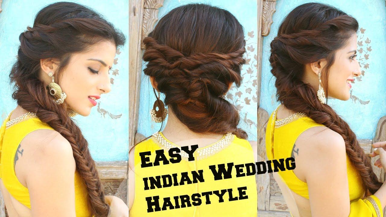 wedding hairstyle medium