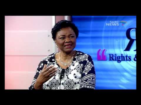 Rights and Recourse: 24 April 2016