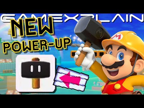 NEW Hammer Power-Up Revealed in Japanese Super Mario Maker 2 Direct