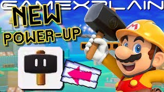 NEW Hammer Power-Up Revealed in Japanese Super Mario Maker 2 D…