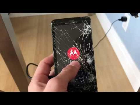 Motorola Droid X durability test