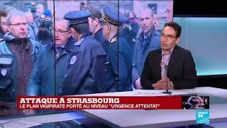 """Attaque à Strasbourg : le plan vigipirate porté au niveau """"urgence attentat"""""""