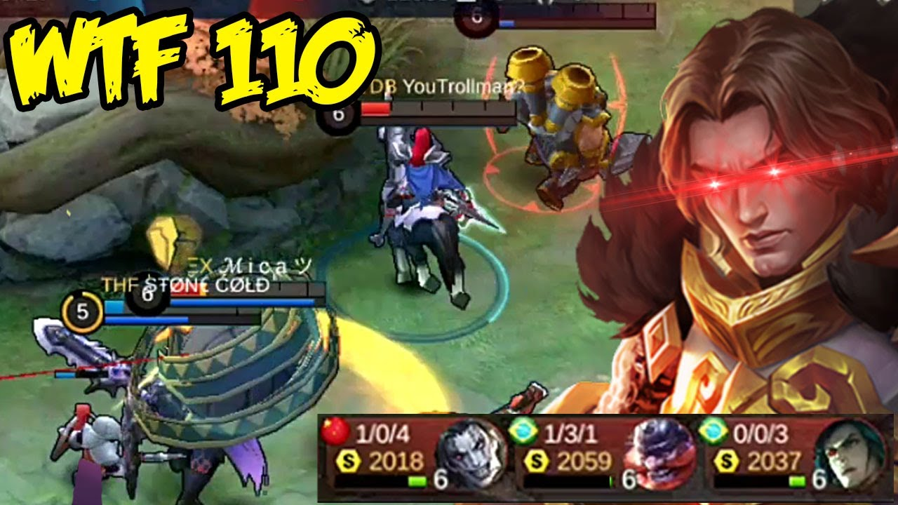Mobile Legends WTF | Funny Moments 110