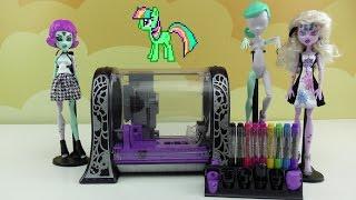 видео Купить куклы и игровые наборы Monster High
