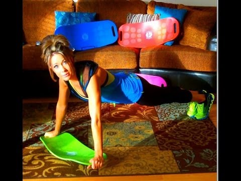 Simply Fit Board ~ Plank and Push Ups - YouTube