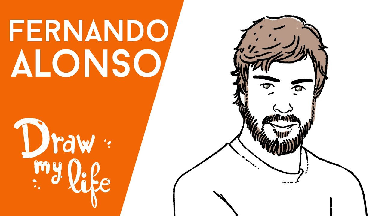 FERNANDO ALONSO - Draw My Life