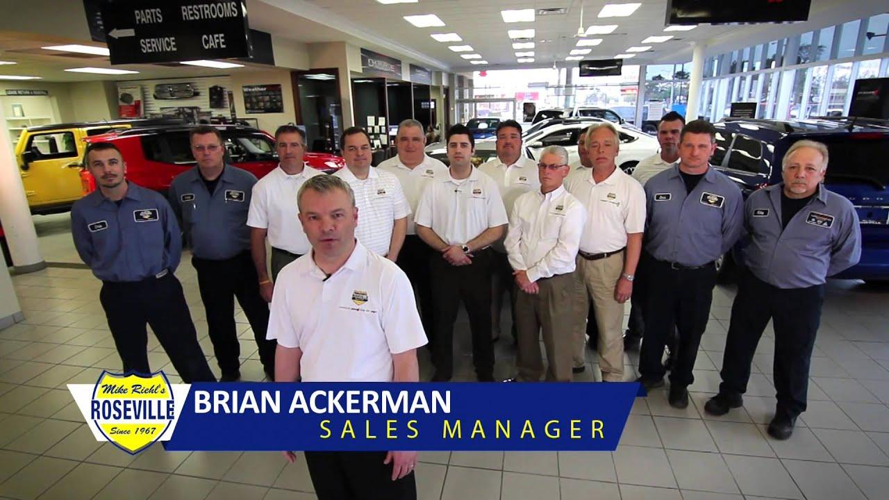 Mike Riehlu0027s Roseville Chrysler Dodge Jeep Ram June 2015 TV Ad