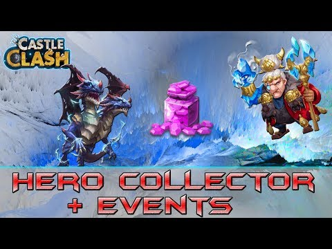 120K Gems For Hero Collector And Events | Castle Clash