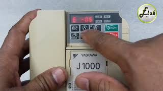 Yaskawa J1000 Parameter Setting & Control +Power wiring Connection বাংলা টিউটোরিয়াল,