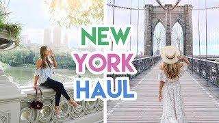 NEW YORK FASHION HAUL! | Amelia Liana