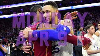 NBA Daily Show: Apr. 9 - The Starters