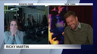 Ricky Martin accidentally hears WGN reporter's fangirl freak-out