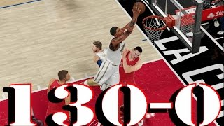 Nba 2k16 MyCareer Blake Griffin 10Secs In The Key No Call - Fox The Draw Foul KING!!