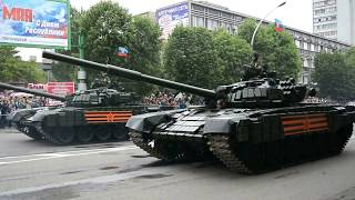 Парад военной техники 9 мая ЛНР 2017