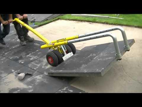 Zuignap Voor Tegels : Mega tegels leggen met trompeasylift tesspaver terras