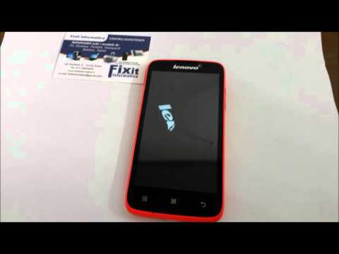 Hard Reset Telefono Cinese - China Phone - ( Lenovo A516 )