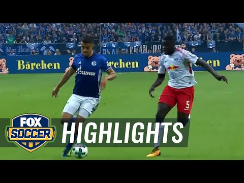 FC Schalke 04 vs. RB Leipzig | 2017-18 Bundesliga Highlights