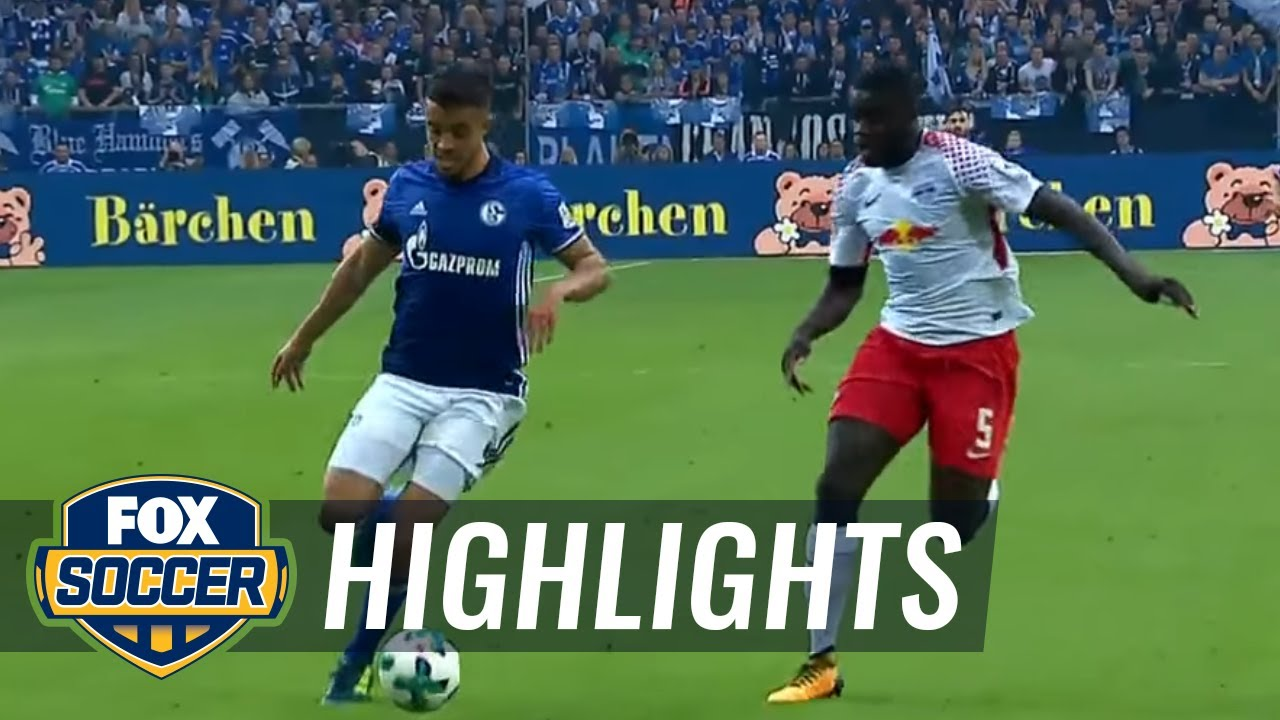 rb leipzig schalke highlights