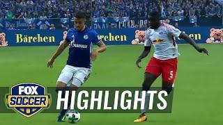 FC Schalke 04 vs. RB Leipzig | 2017-18 Bundesliga Highlights
