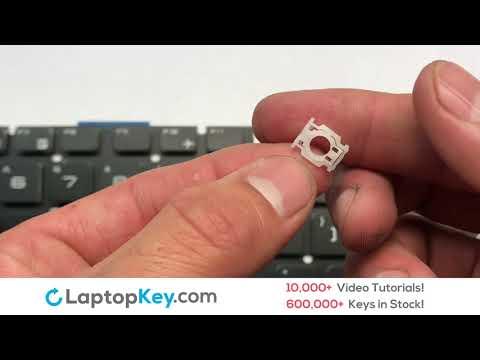 Single Laptop Keyboard Keys Repair Guide | MSI GE Series GE62 GP72 GS70 GT72