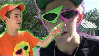 THE MOST FAMOUS GLASSES ON THE INTERNET (ft. Roy Purdy) | Garrett Ginner