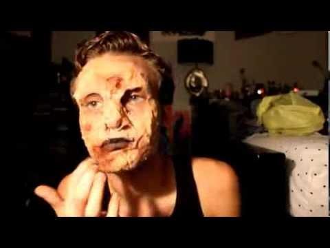 Ewww Zombie Makeup Tutorial (Gelatin) Gross - YouTube