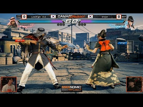 Crazy Grand Finals | LowHigh vs. Ulsan | DamagermanY 2019 | TEKKEN 7