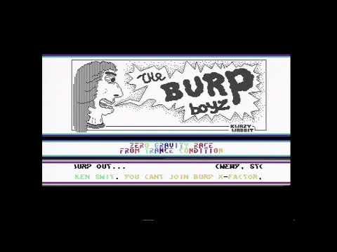 Burp intro - Zero Gravity Race C64