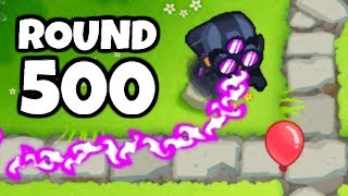 This Is What A Round 500 Pink Bloon Looks Like (Bloons TD 6)