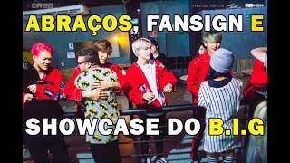 figcaption Abraços e autógrafos com B.I.G no Brasil | Hihug and Fansign with B.I.G in Brazil